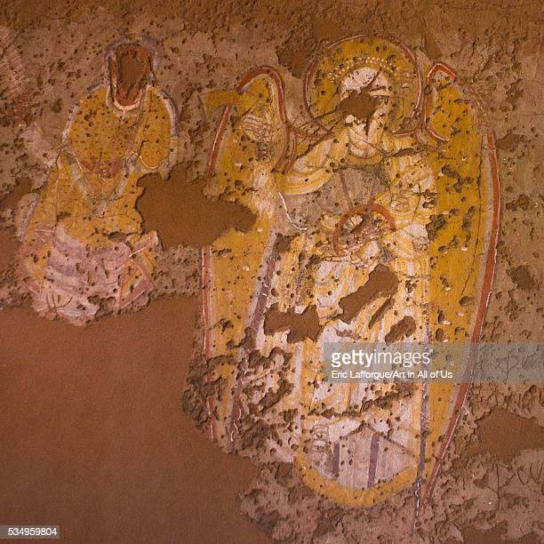 Sudan Khartoum State Khartoum 13th century archangel raphael from the church of abd el gedir in the national museum of sudan