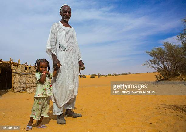 Sudan Nubia Old Dongola father and daughter