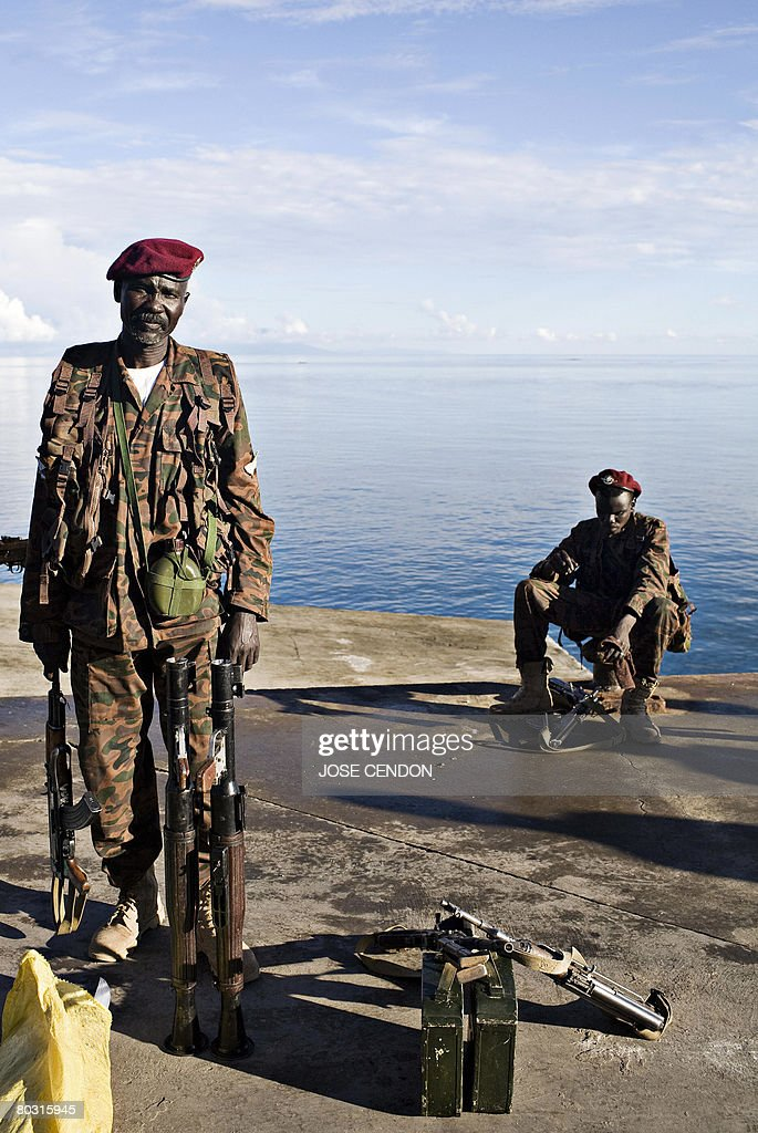 Sudanese African Union (AU) troops disem : News Photo