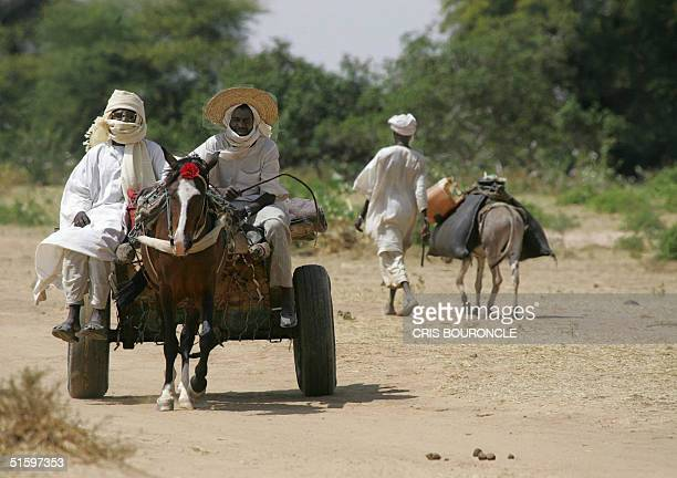 Sudanese and Chad citizens commute freely between the remote villages of Asoonga in western Darfur and Adri in eastern Chad separated by a dry stream...