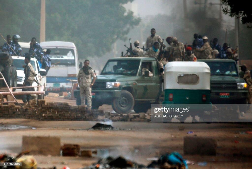 SUDAN-UNREST-PROTEST : News Photo