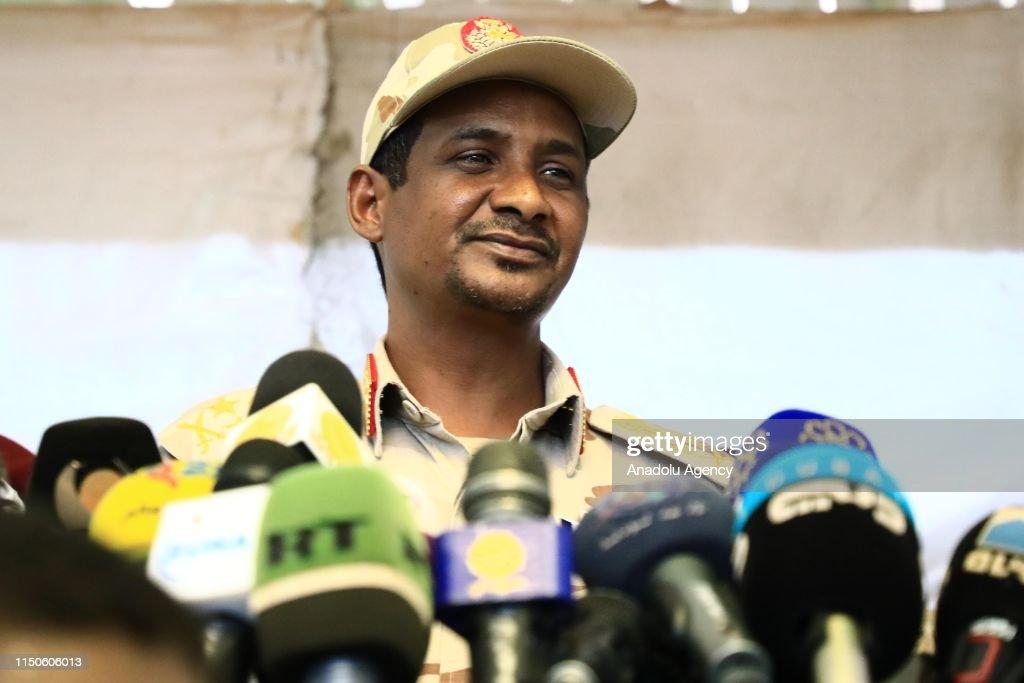Sudanese General Mohamed Hamdan Dagalo : News Photo