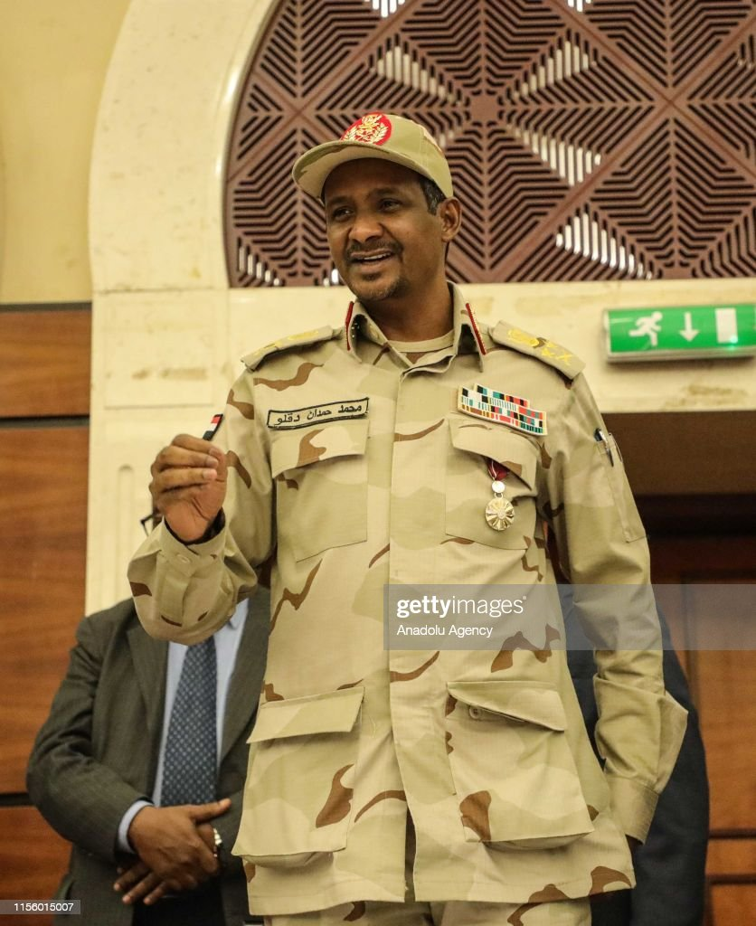Sudan military rulers, opposition sign transition deal : News Photo