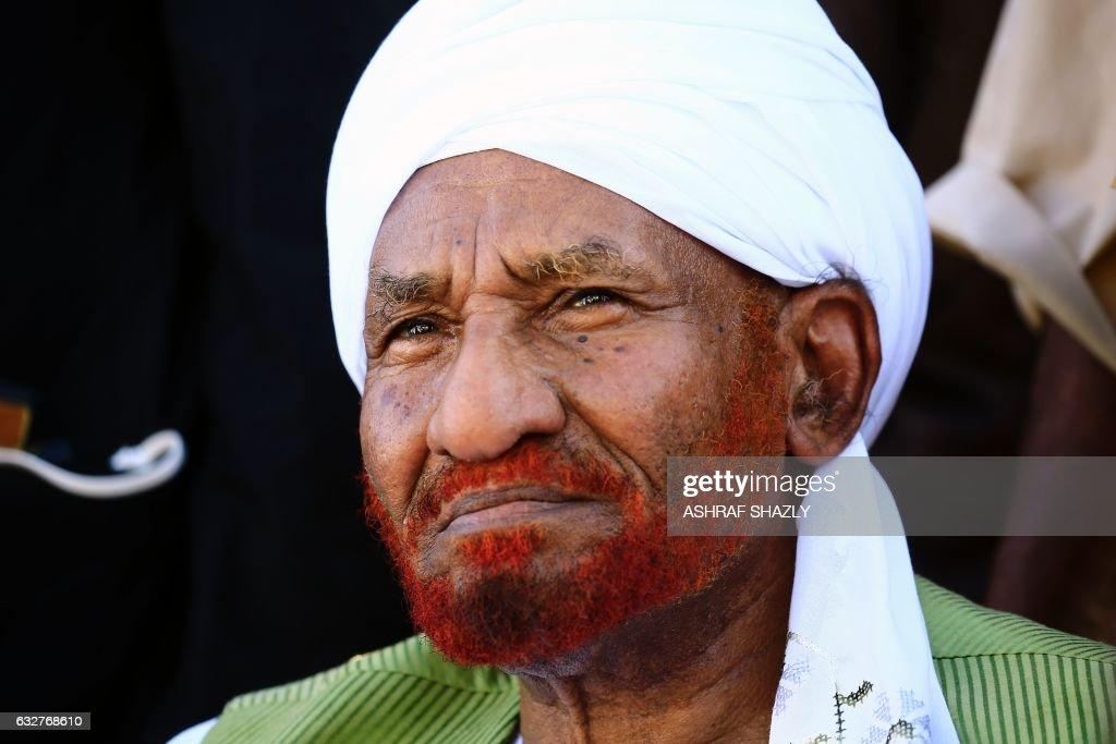 SUDAN-POLITICS-OPPOSITION-MAHDI : News Photo