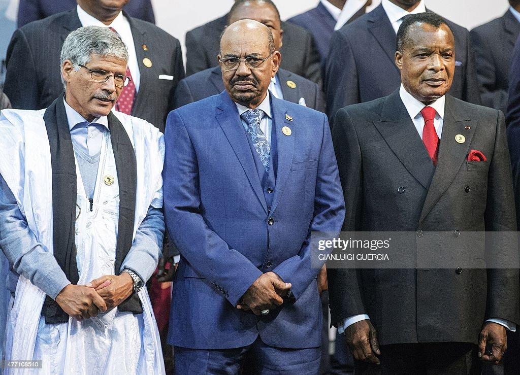 SAFRICA-AU-SUMMIT-SUDAN-ICC : News Photo