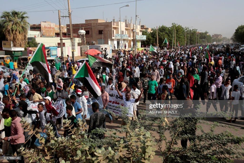 SUDAN-UNREST : Nachrichtenfoto