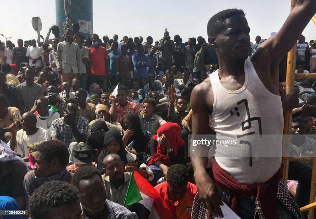 SUDAN-UNREST-DEMO-POLITICS : News Photo