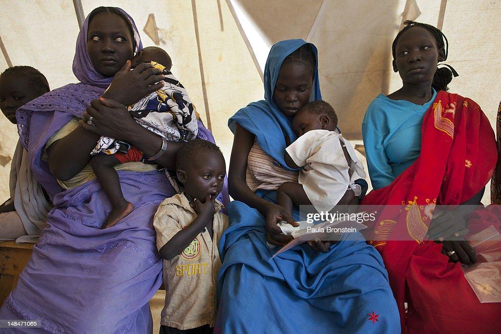 Sudan Refugee Crisis Worsens : News Photo
