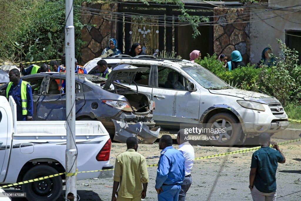 SUDAN-POLITICS-BLAST : News Photo