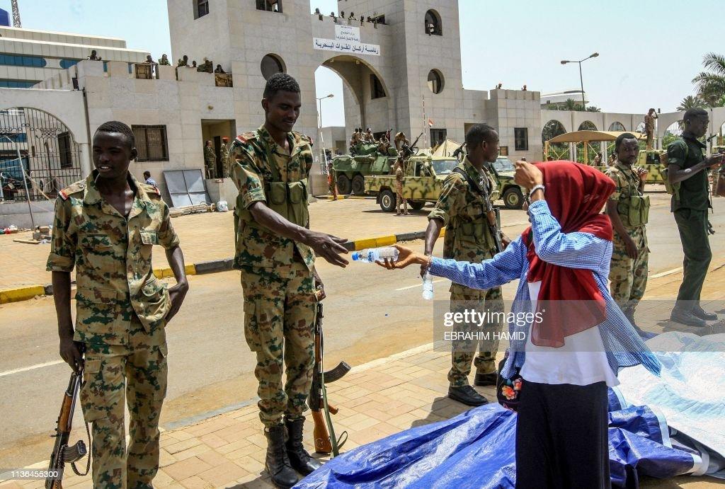 SUDAN-UNREST-POLITICS-DEMO : News Photo