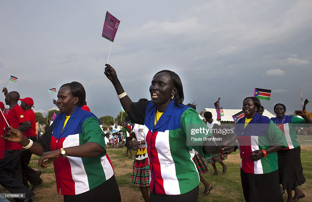 South Sudan Prepares For It's First Anniversary : News Photo