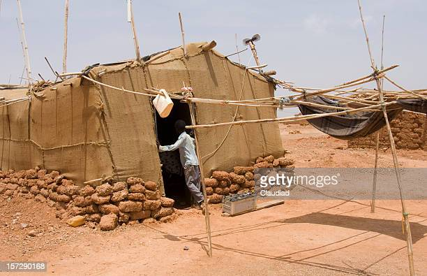 sudan-refugees - refugee camp stock pictures, royalty-free photos & images