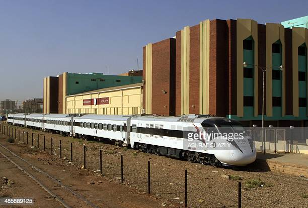 Sudan's new Nile Train passes through Khartoum on March 17 2014 In a dilapidated povertystricken country where some railway rolling stock is more...