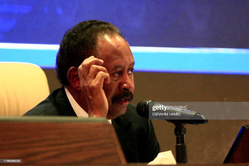 SUDAN-POLITICS-CABINET : News Photo