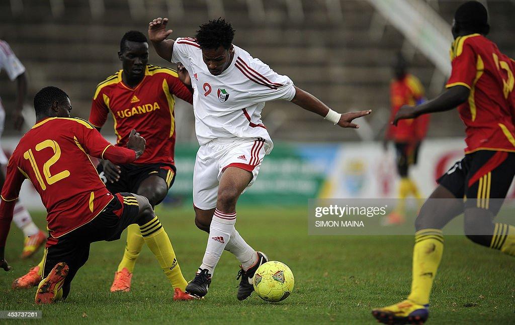 FBL-CECAFA-SUDAN-UGANDA : News Photo