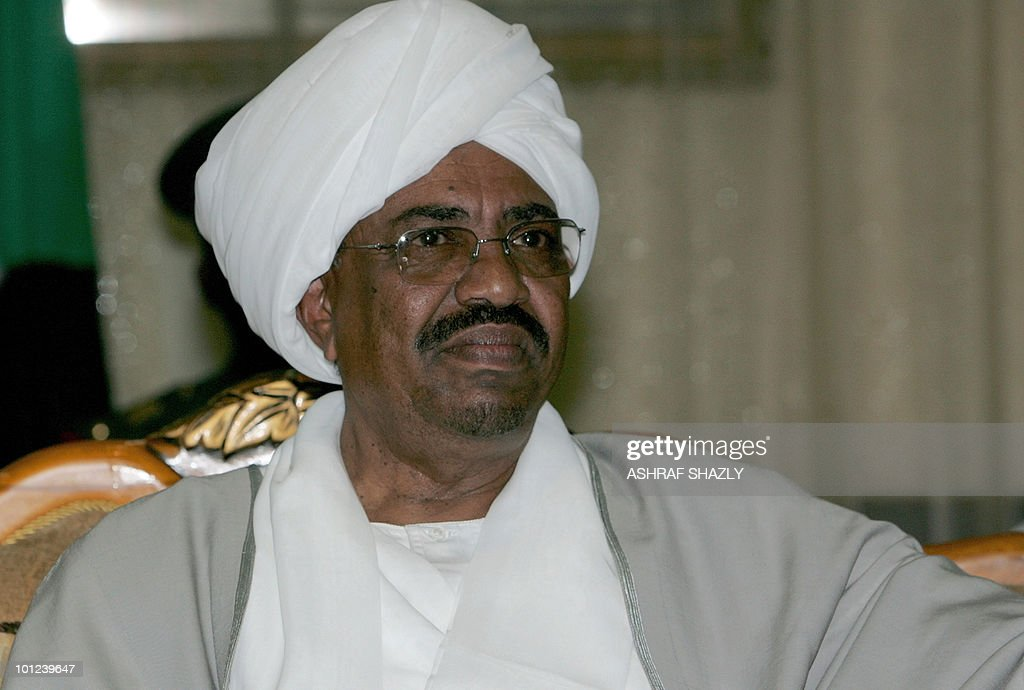Sudan's President Omar al-Beshir receives well wishers on the first day of Eid al-Fitr in the Sudanese capital Khartoum on Seoptember 20, 2009, as Muslims across the world celebrated the end of the holy month of Ramadan. The International Criminal Court, the world's only permanent tribunal for war crimes, genocide and crimes against humanity, has to date issued three arrest warrants in connection with its four-year-old investigation into Sudan's Darfur conflict -- including one for Beshir on March 4.