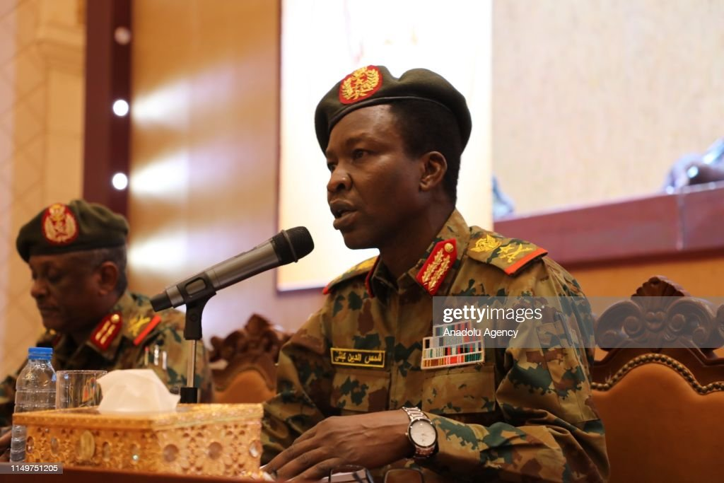 Sudan's Transitional Military Council  spokesperson : News Photo