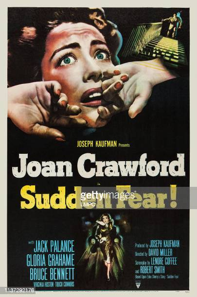 Sudden Fear poster US poster Joan Crawford 1952
