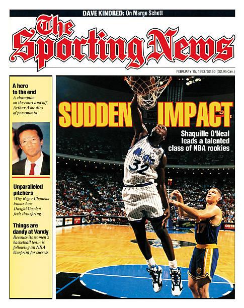 NBA Covers - Orlando Magic' Shaquille O'Neal - February 15