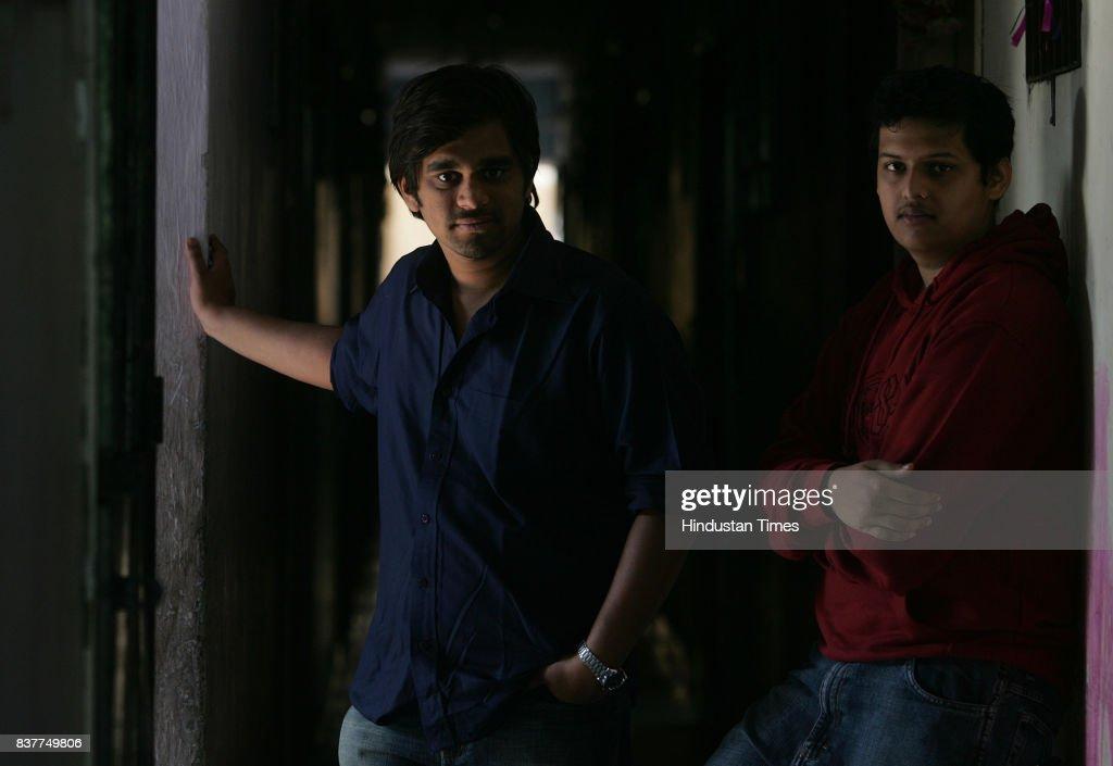 Sudeep Modak (left) and Chaitanya Tamhane, makers of the documentary 'The 4 Step Plan'.