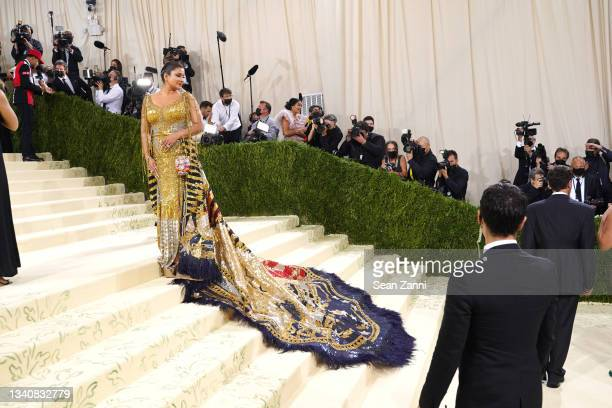 Sudha Reddy attends 2021 Costume Institute Benefit - In America: A Lexicon of Fashion at the Metropolitan Museum of Art on September 13, 2021 in New...