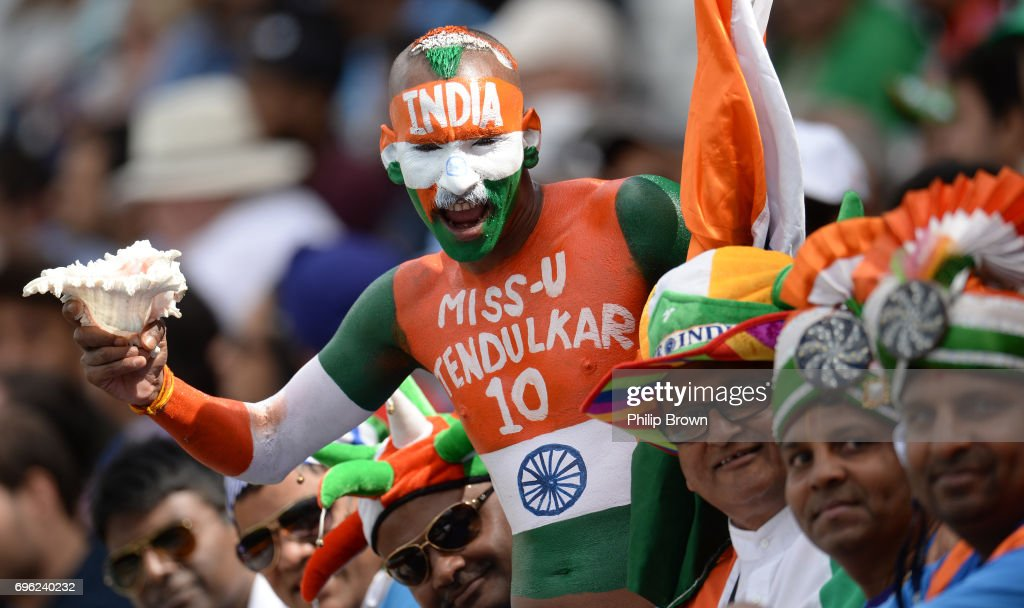 Bangladesh v India - ICC Champions Trophy Semi Final : News Photo