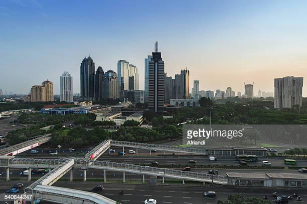 Sudirman Business Central District (SCBD) Jakarta
