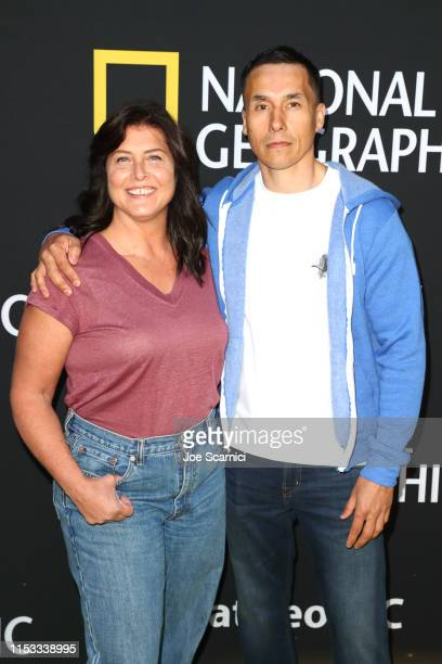 Sue Aikens and Ricko DeWilde attend National Geographic's Contenders Showcase at The Greek Theatre a oneofakind outdoor experience and concert...