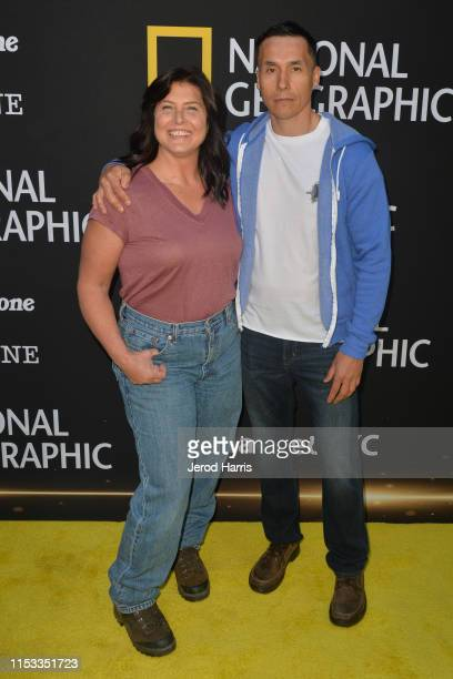 Sue Aikens and Ricko DeWilde attend National Geographic's Contenders Showcase at The Greek Theatre on June 2 2019 in Los Angeles California