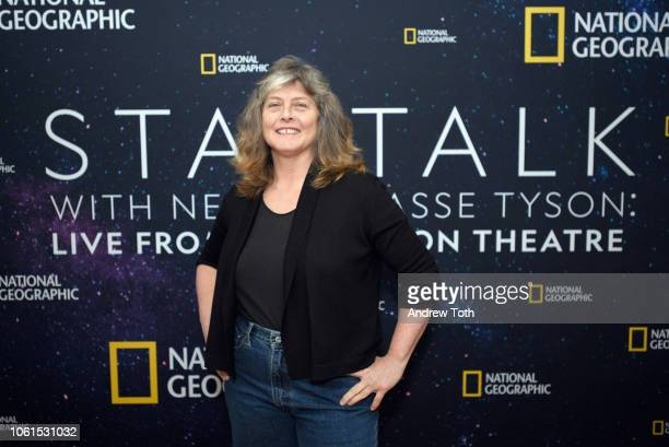 Sue Aikens of Life Below Zero attends the prereception at Cesca before National Geographic's StarTalk With Neil DeGrasse Tyson Live From The Beacon...