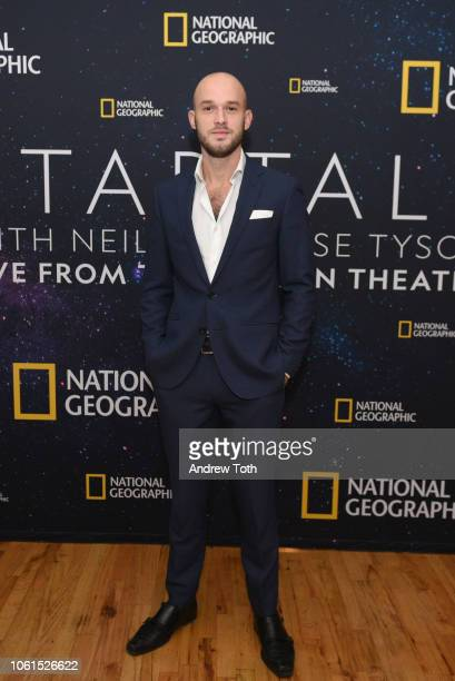 Sue Aikens of Life Below Zero attends the reception at Cesca for National Geographic's StarTalk With Neil DeGrasse Tyson Live From The Beacon Theater...
