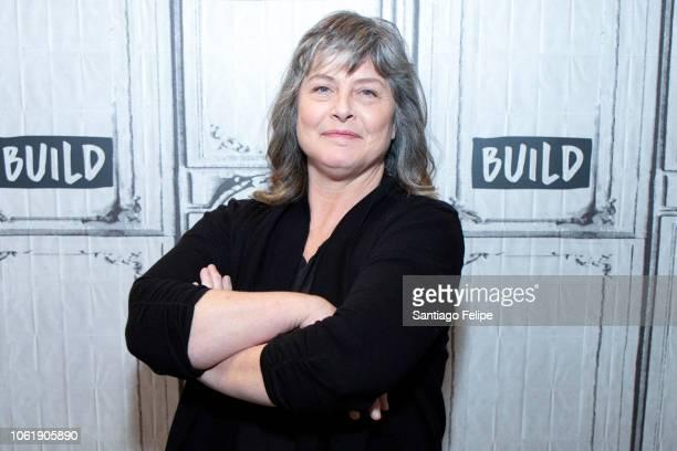 Sue Aikens visits Build Studio on November 15 2018 in New York City