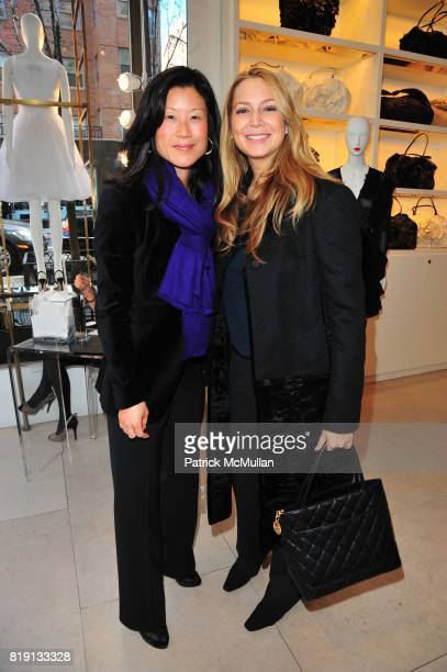 Sue Ann Kasdin and Samantha Brous attend VALENTINO Spring/ Summer 2010 Collection Private Luncheon and Presentation hosted by Samantha Boardman Rosen...