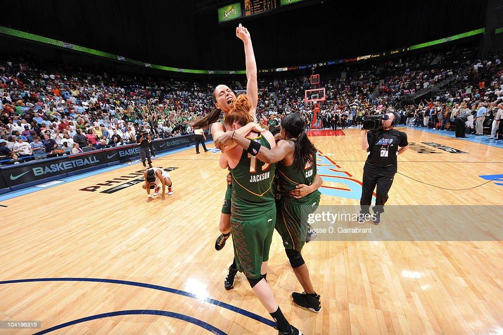 WNBA Finals Game 3: Seattle Storm v Atlanta Dream