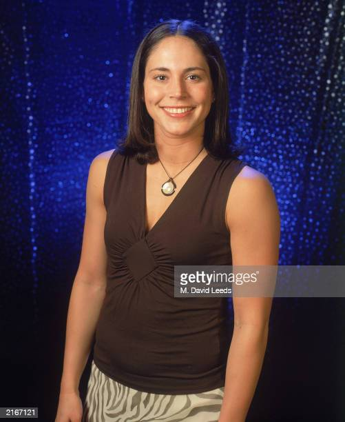 Sue Bird of the Seattle Storm poses for a 2003 WNBA AllStar portrait at Madison Square Garden on July 11 2003 in New York City New York NOTE TO USER...