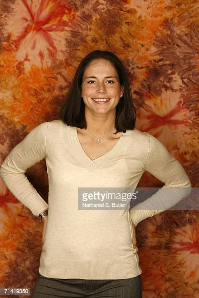 Sue Bird of the Seattle Storm poses for a fashion portrait during the 2006 WNBA AllStar Weekend on July 11 2006 at the Hilton Hotel in New York City...