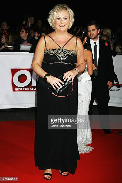 Sue Cleaver arrives for the National Television Awards 2007 at the Royal Albert Hall on October 31 2007 in London England