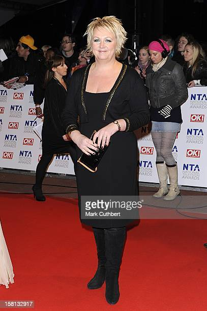 Sue Cleaver Arriving For The National Television Awards 2010 At The 02 Arena London