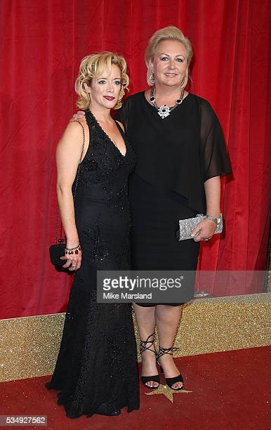 Sue Cleaver attends the British Soap Awards 2016 at Hackney Empire on May 28 2016 in London England