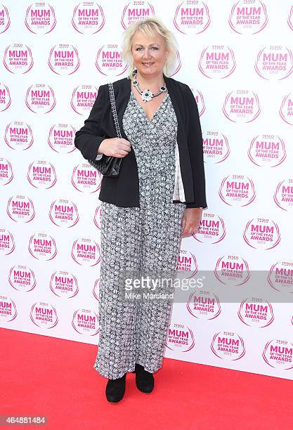Sue Cleaver attends the Tesco Mum of the Year Awards at The Savoy Hotel on March 1 2015 in London England