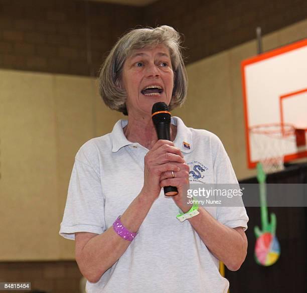Sue Douglas attends the Sprite Green Instrument Donation on February 14 2009 in Mesa Arizona