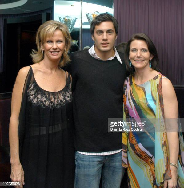 Sue Firestone Fabian Basabe and Mimi Wolfe during Tamsen Cocktail Party at Frederick's in New York City New York United States