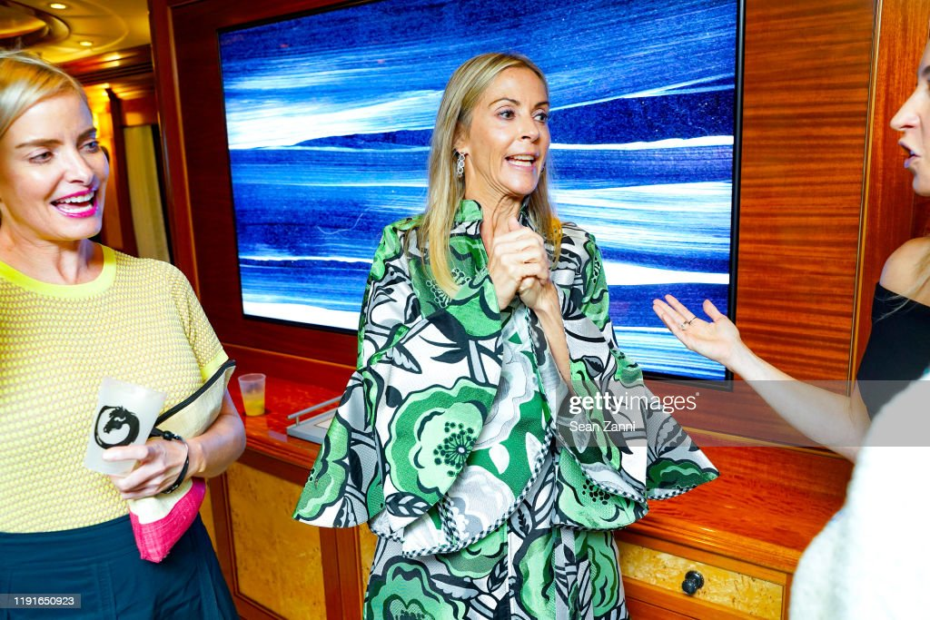 Sue Hostetler Attends Sue Hostetler Beau Wrigley Host Cocktails To News Photo Getty Images