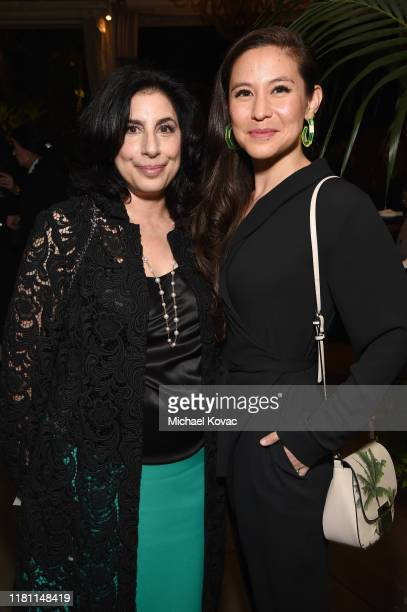 Sue Kroll and Christina Hodson attend ELLE's 26th Annual Women In Hollywood Celebration Presented By Ralph Lauren And Lexus at The Four Seasons Hotel...