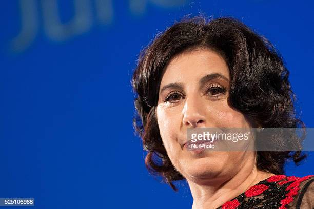 Sue Kroll attends Day 7 of the 61st Taormina Film Fest on June 19 2015 in Taormina Italy
