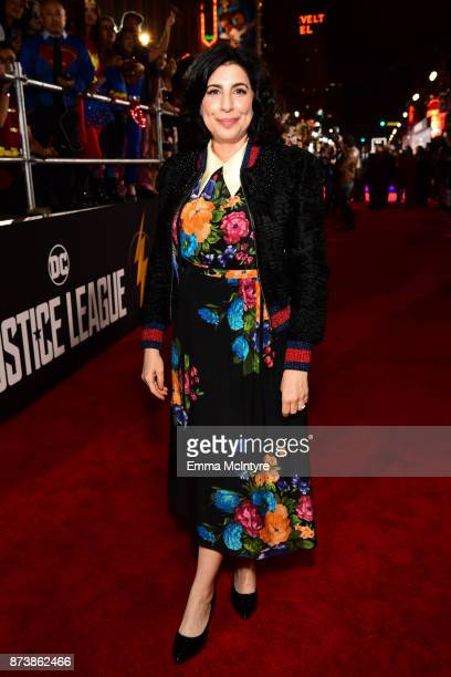 Sue Kroll attends the premiere of Warner Bros Pictures' 'Justice League' at Dolby Theatre on November 13 2017 in Hollywood California