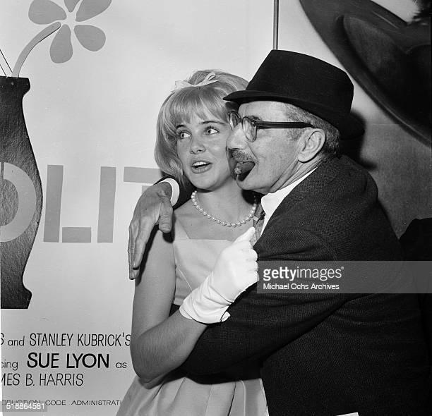 Sue Lyon attends the movie premiere of Lolita in Los AngelesCA
