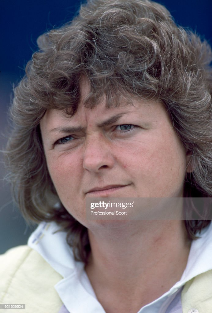 Sue Mappin of Great Britain during the US Open at the USTA National Tennis Center, circa September 1988 in Flushing Meadow, New York, USA.