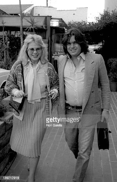 Sue Mengers and editor Jann Wenner sighted on January 30, 1981 at Ma Maison Restaurant in West Hollywood, California.