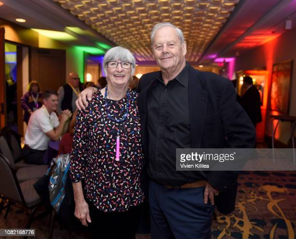 Sue Milliken and Bruce Beresford attend the Closing Night Reception at the 30th Annual Palm Springs International Film Festival on January 13 2019 in...